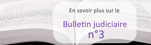 bulletin judiciaire n3