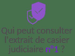 confidentialite extrait casier judiciaire n1