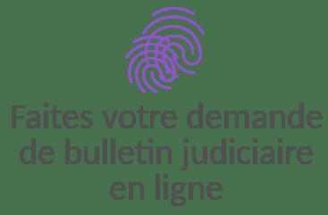 demande bulletin judiciaire en ligne