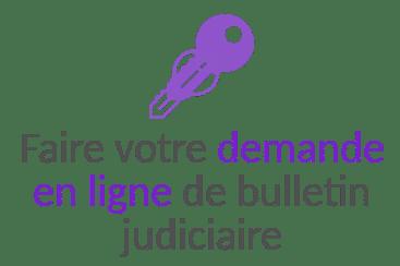 demande en ligne bulletin judiciaire