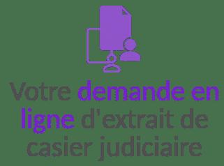 demande en ligne extrait casier judiciaire