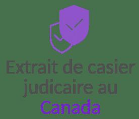 extrait casier judiciare canada