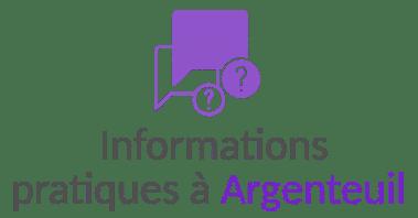 information pratique argenteuil