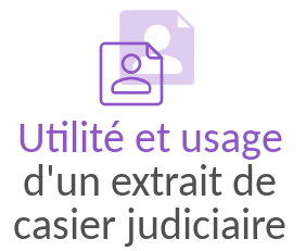 utilite extrait casier judiciaire
