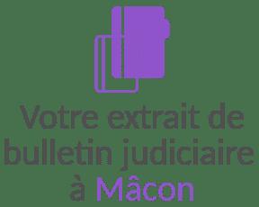 extrait bulletin judiciaire macon