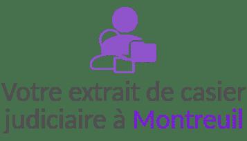 extrait casier judiciaire montreuil